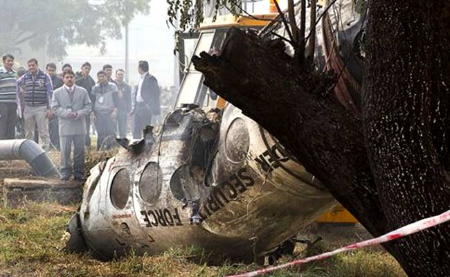 Air crash scares Dwarka residents