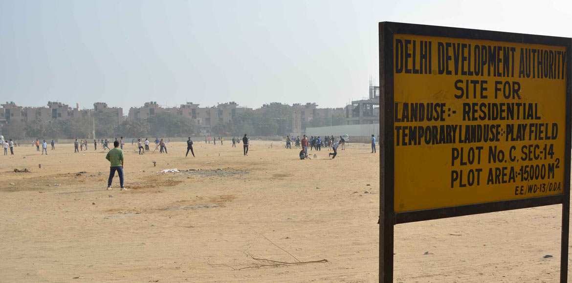 Vacant plot to become play area in Dwarka