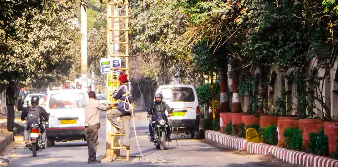 How BSES solved a traffic problem in Dwarka
