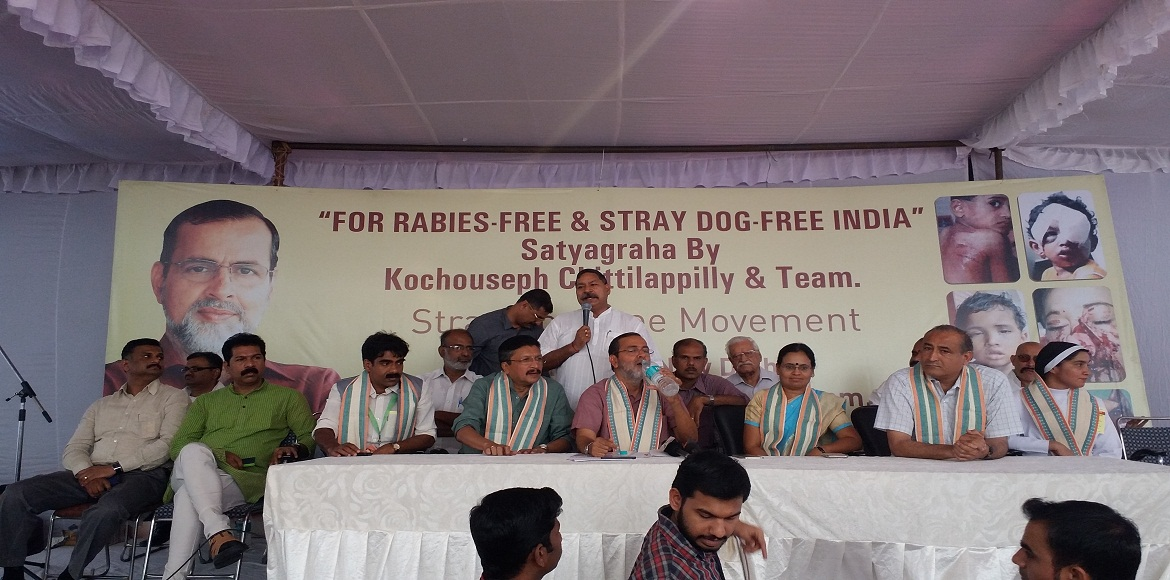 FONRWA joins a society against stray dog menace