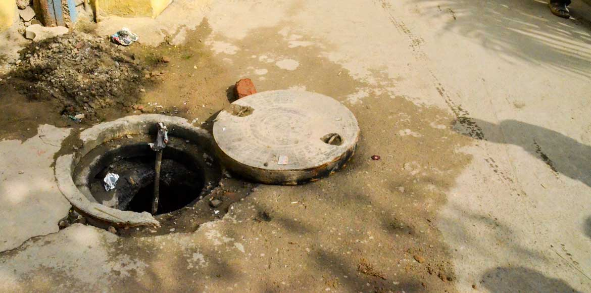 Survey first, choked sewer lines to be fixed next