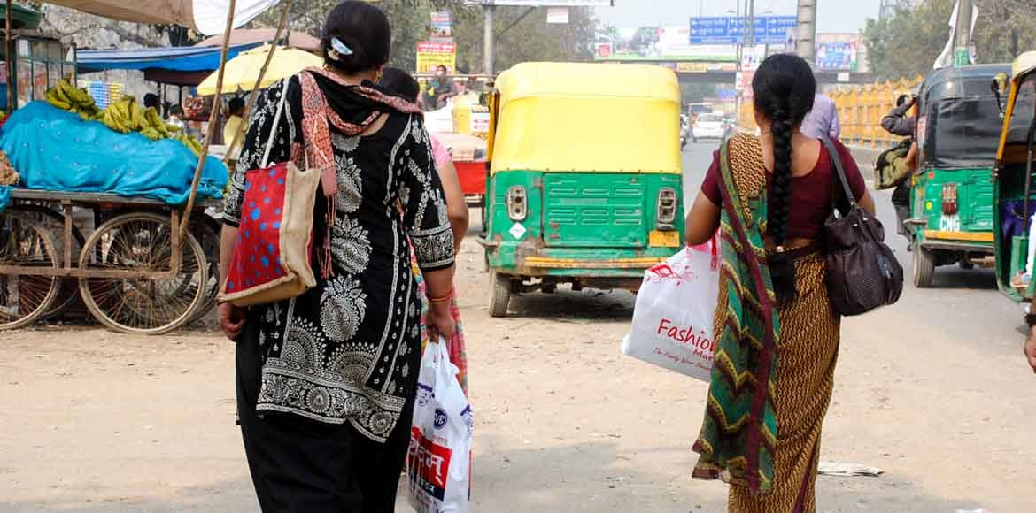 You can still see plastic bags in Ghaziabad