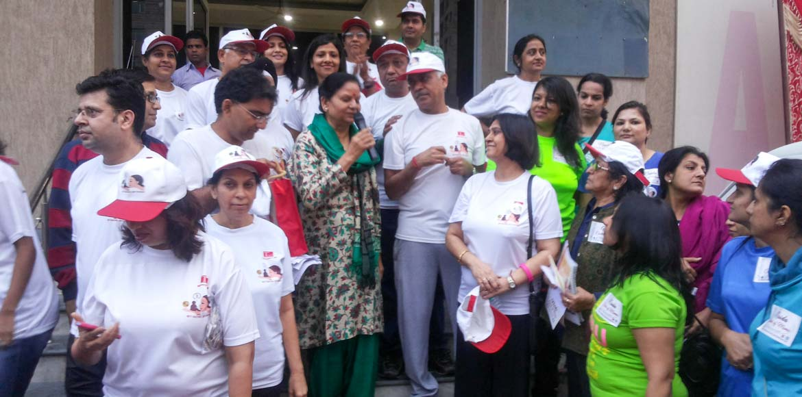 A walk for the girl child in Sec 31