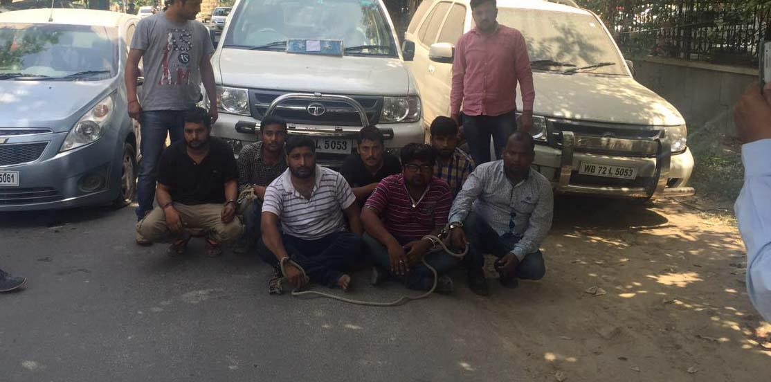 DIG's stolen SUV recovered; seven held
