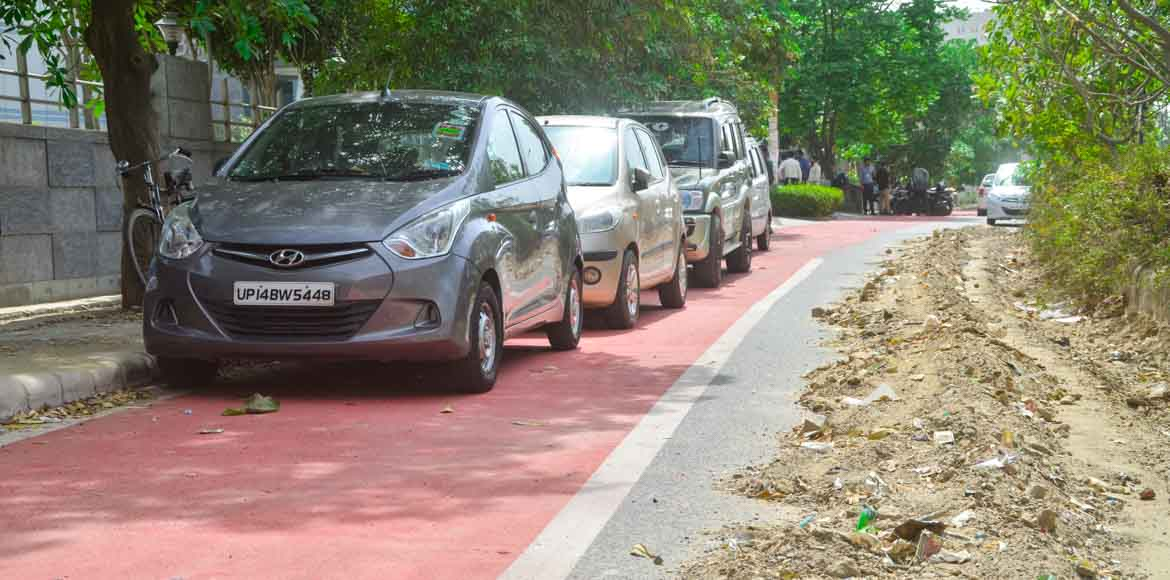 Does Noida really intend to be cycle-friendly?