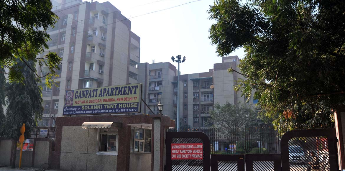 Ganpati Apartment gets a makeover