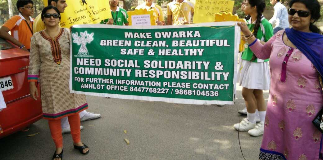 Here's one reason why Dwarka streets are squeaky c