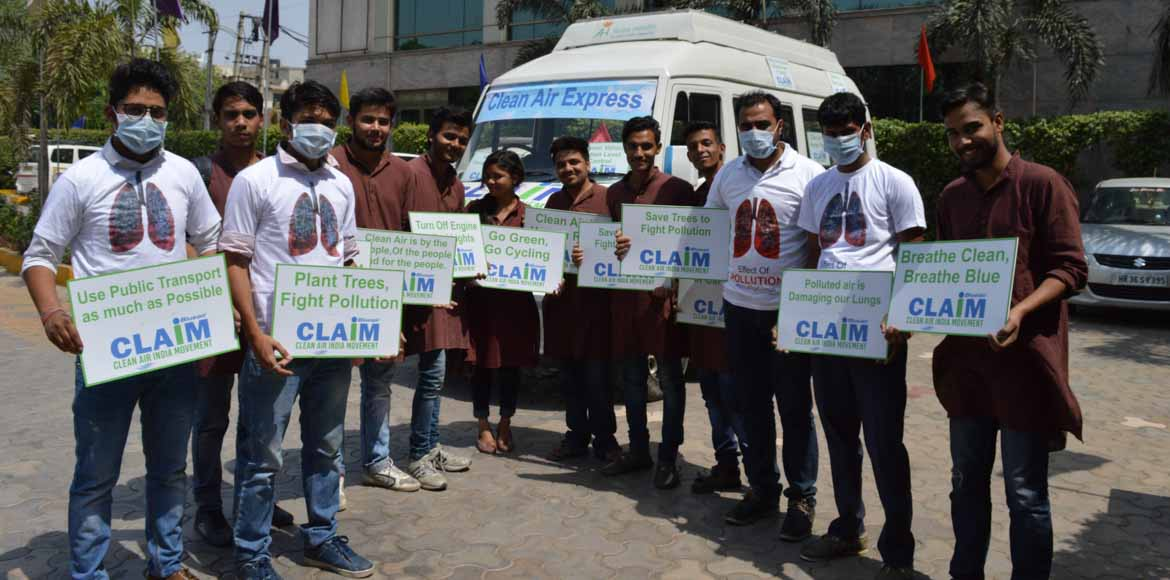 Hop on to the Clean Air Express in Gurgaon