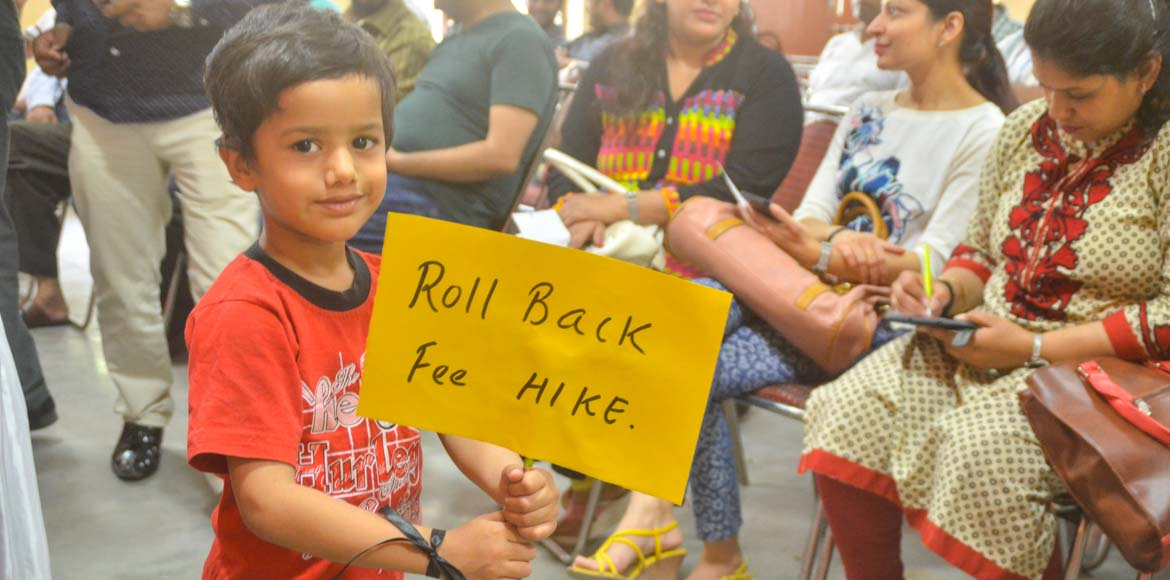 Sign to pledge solidarity against fee hike