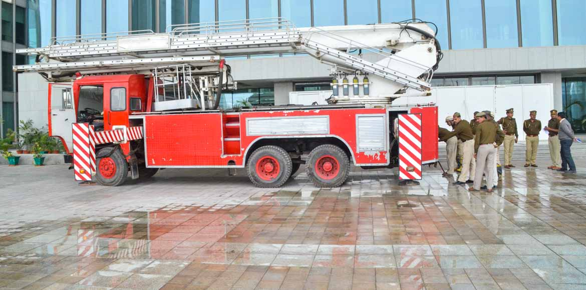 Ghaziabad firefighters can now get high