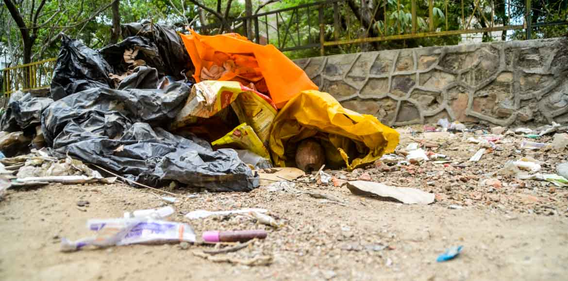 Noida: Medical waste dumped near City View Apartme