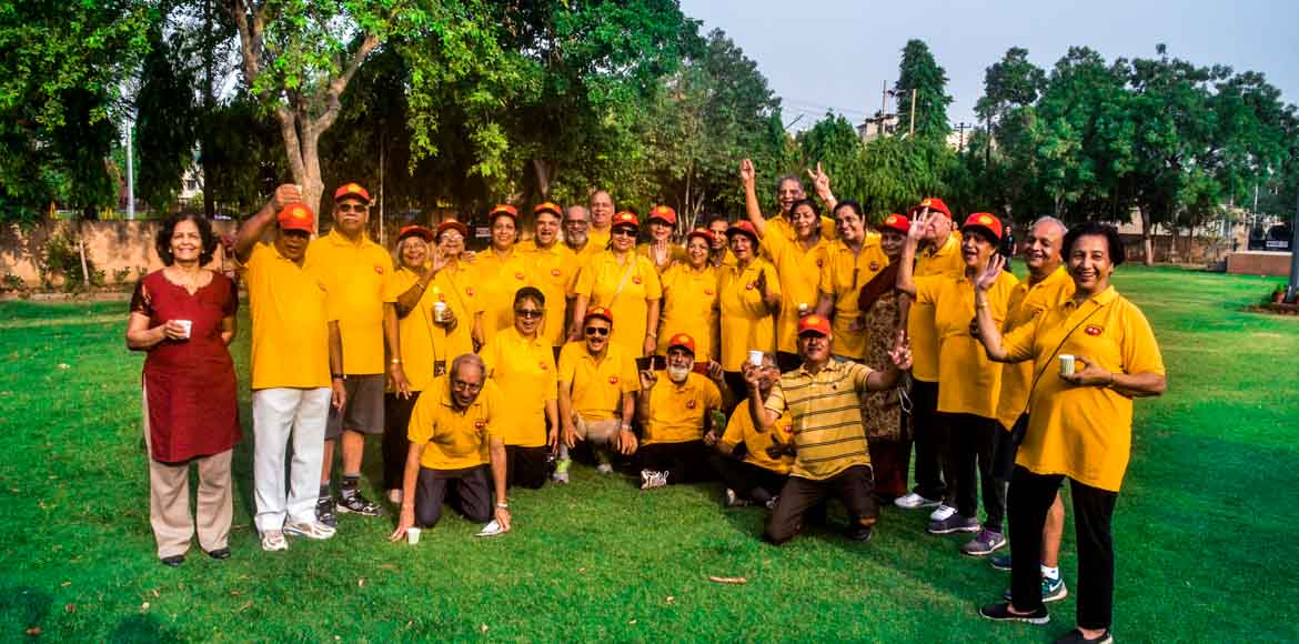 Yellow brigade for a greener neighbourhood