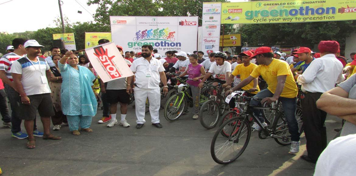 For Dwarka, bicycle becomes symbol of World Enviro