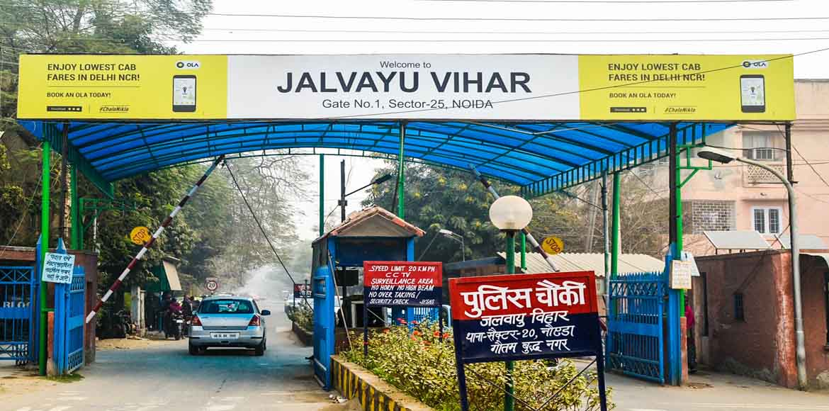 Why isn't the Authority acting on Jalvayu Vihar's