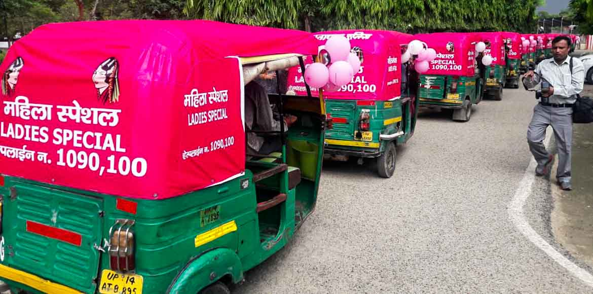 Ghaziabad women: Under pink protection