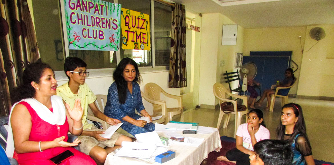 Quizzing time for Dwarka kids