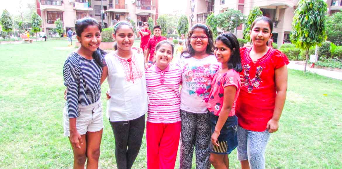 Eco club Happy Home, Dwarka: Kids with a cause