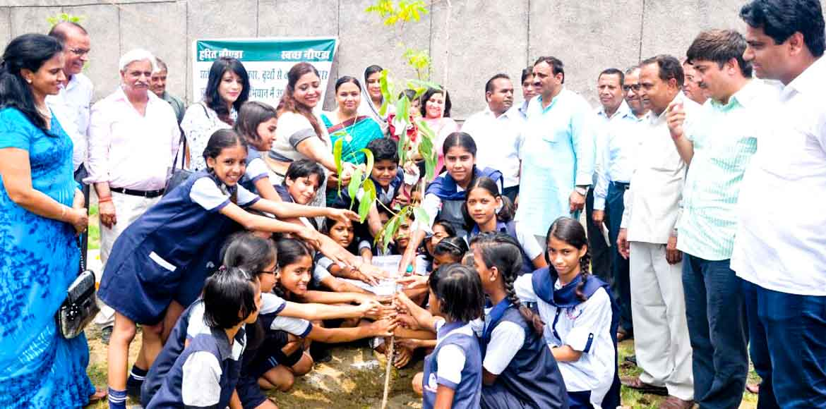 Noida Authority to plant 4.5 lakh trees in the cit