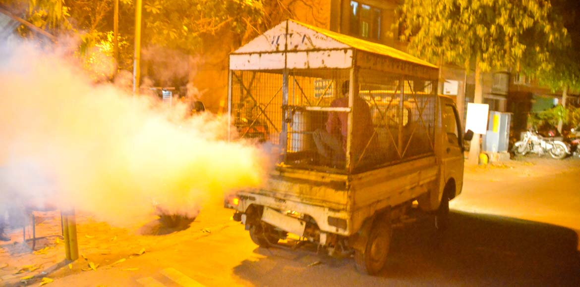 Dwarka residents demand fogging after dengue scare