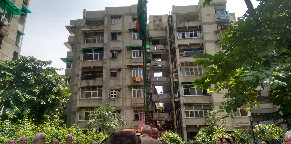 Independence Day celebrations in Mayur Vihar I ext
