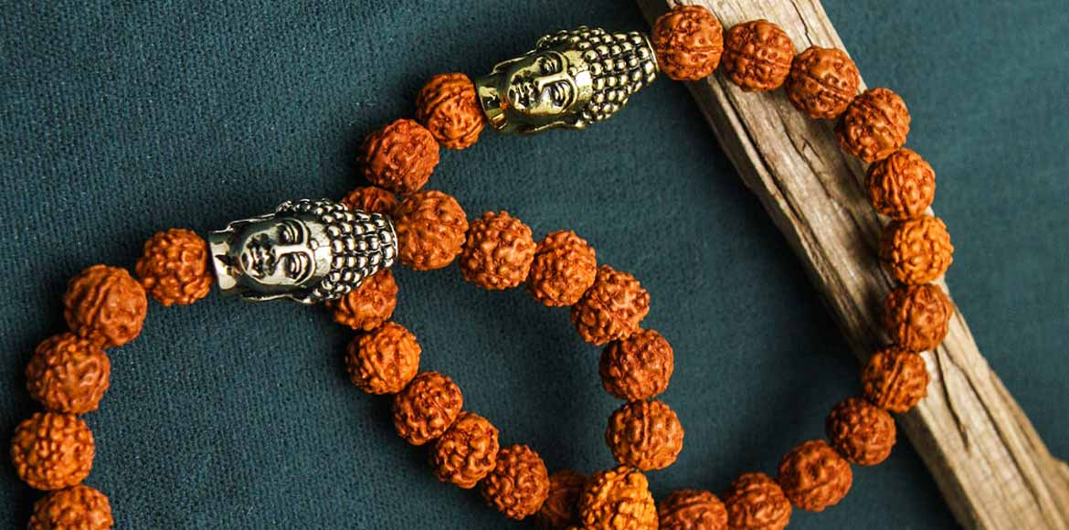 Why don't you tie a rudraksha rakhi this year?