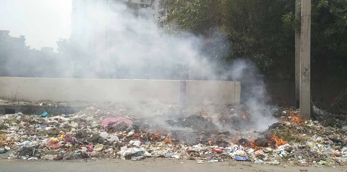 Brahma Apartments: No smoke without garbage