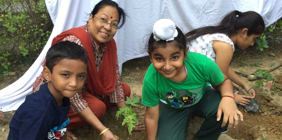 How Ganpati Apts is sowing seeds for a greener, cl