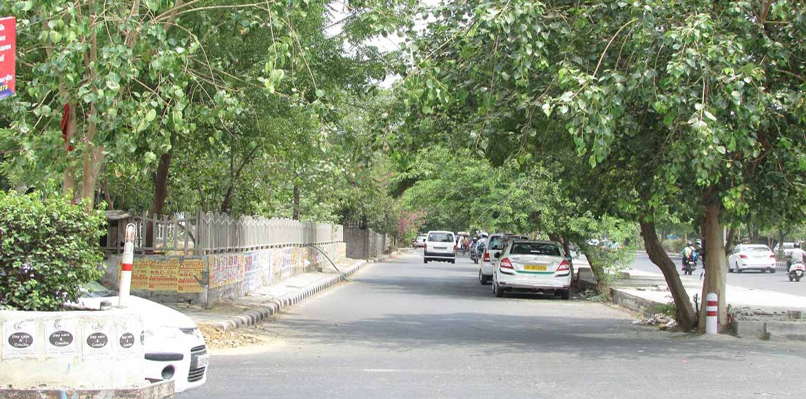 Sector 6, Dwarka: Is having streetlights enough?