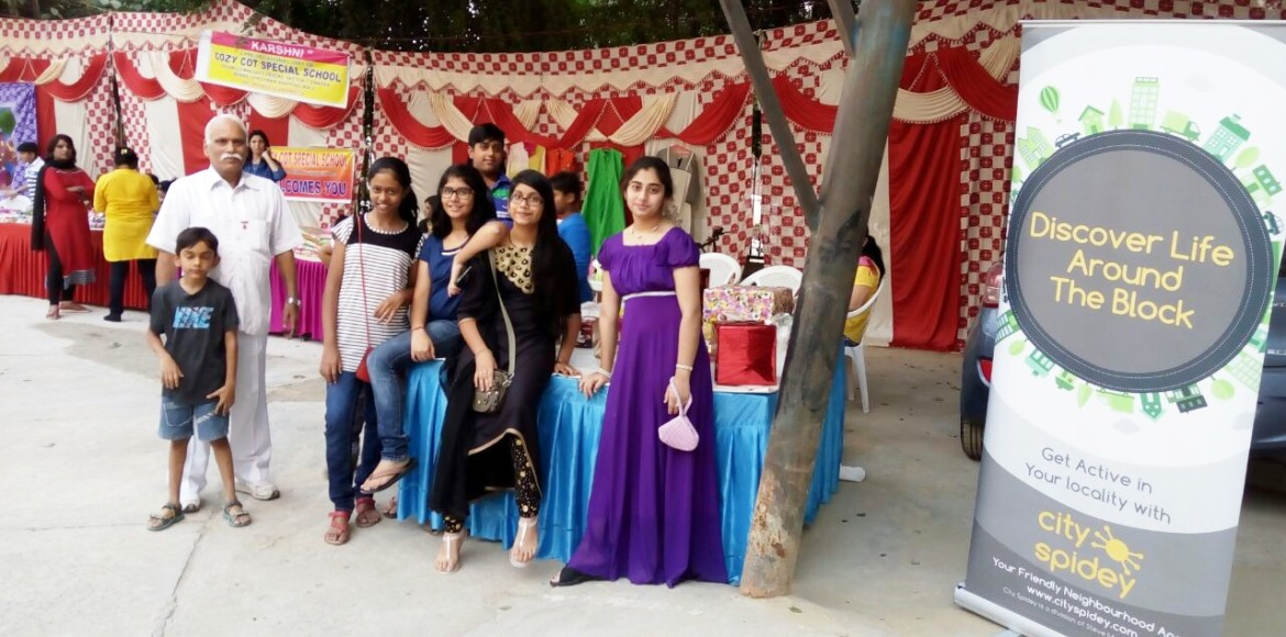 Brahma Apts had a gala time at its Diwali mela!