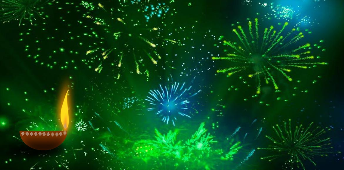 DIWALI SPECIAL: Green is the warmest colour