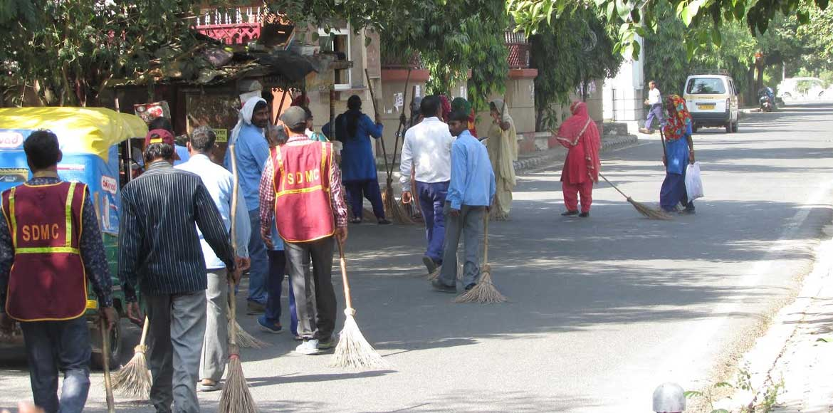 DF and SDMC joint cleaning campaign completes one successful week