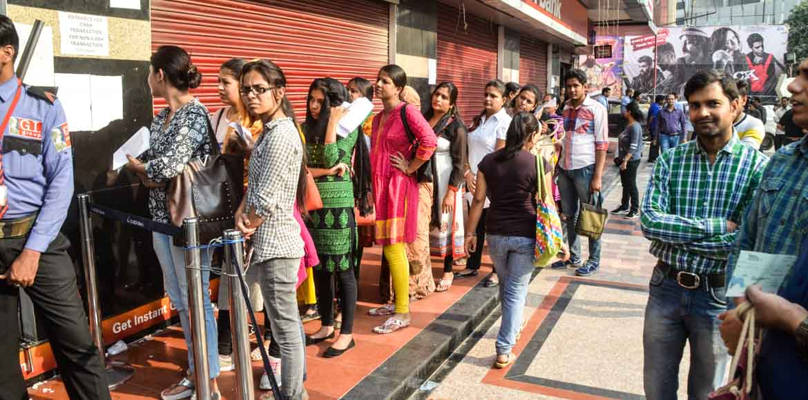 Noida: Separate counters for women and senior citizens in some banks