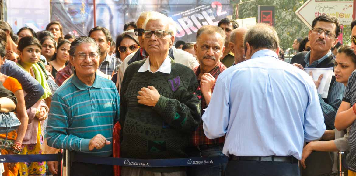 Hard Cash Day 11: No separate queues for senior citizens on November 19?