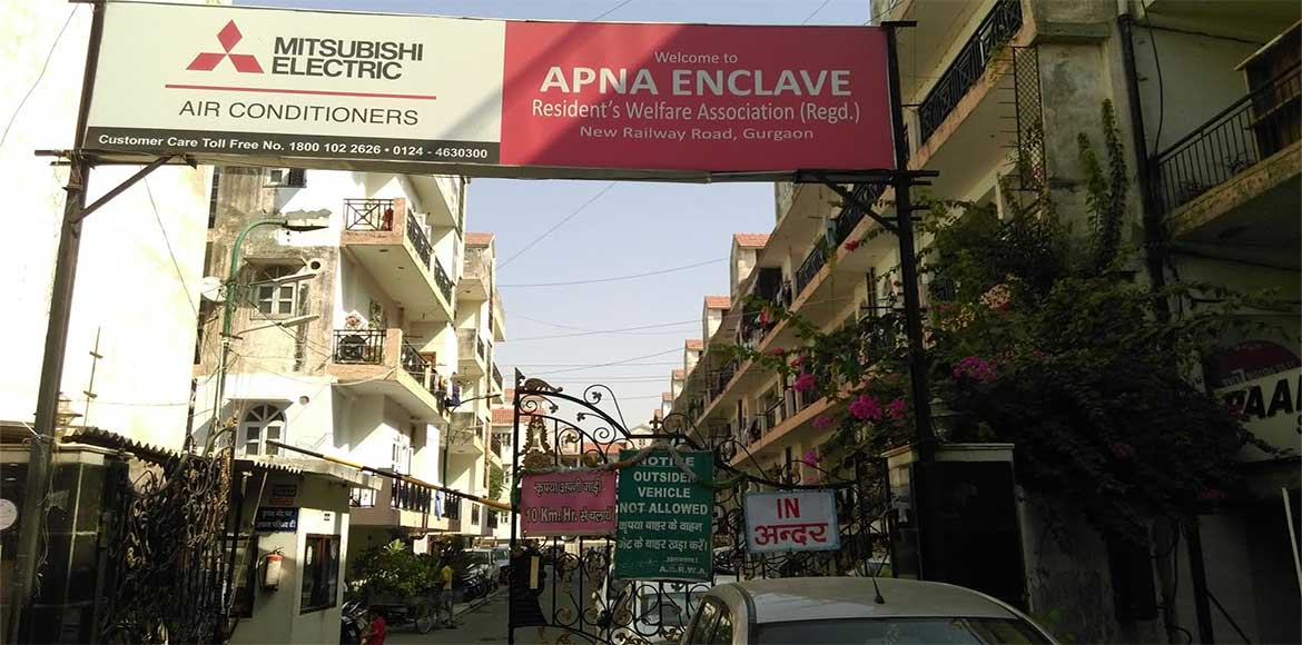 Apna Enclave, Gurugram: More cars than parking slots