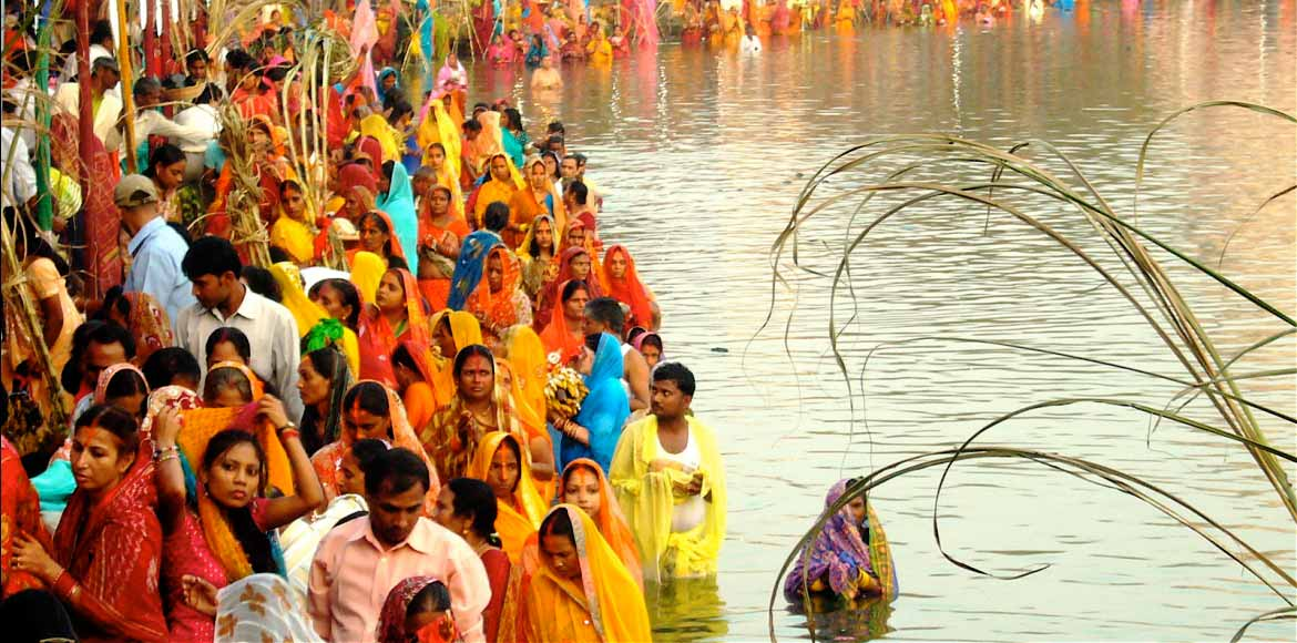 Dwarka gears up for Chhath Puja