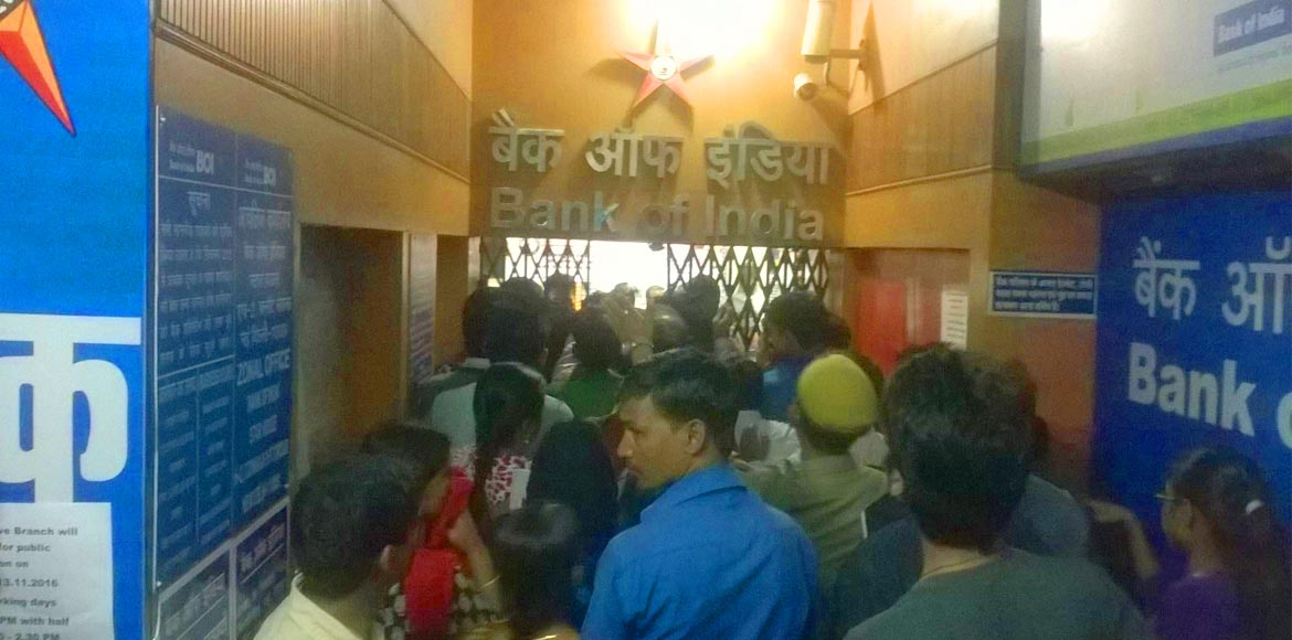 No separate queues for senior citizens and physically challenged