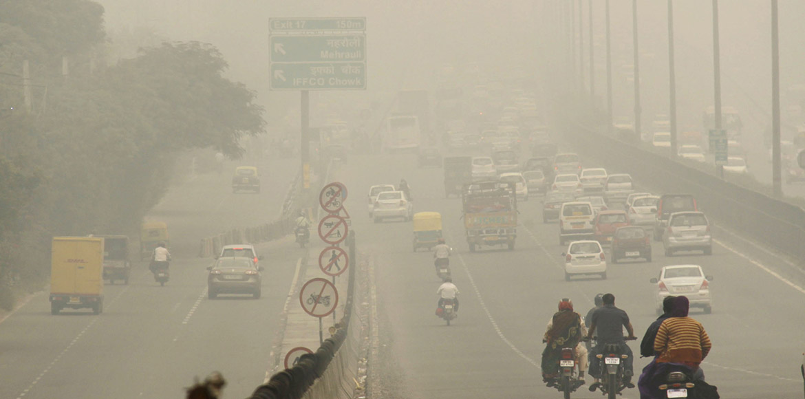 Gurgaon: PM 2.5 seven times higher than safe standard