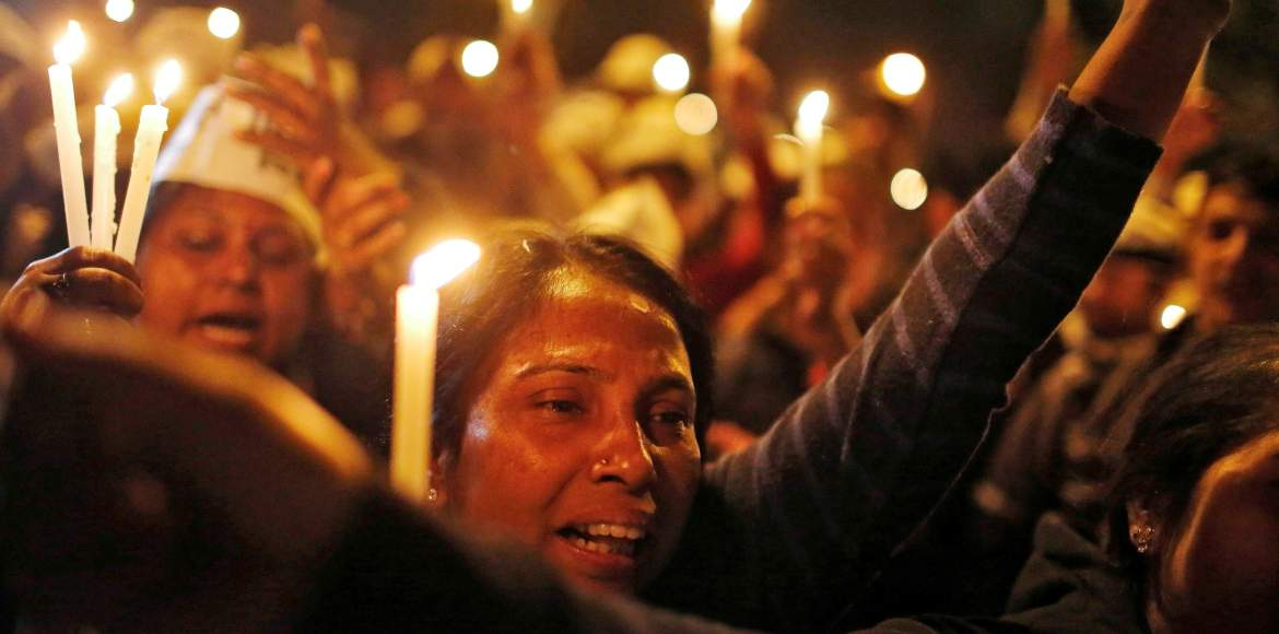 Gurgaon holds candlelight march for raped minor
