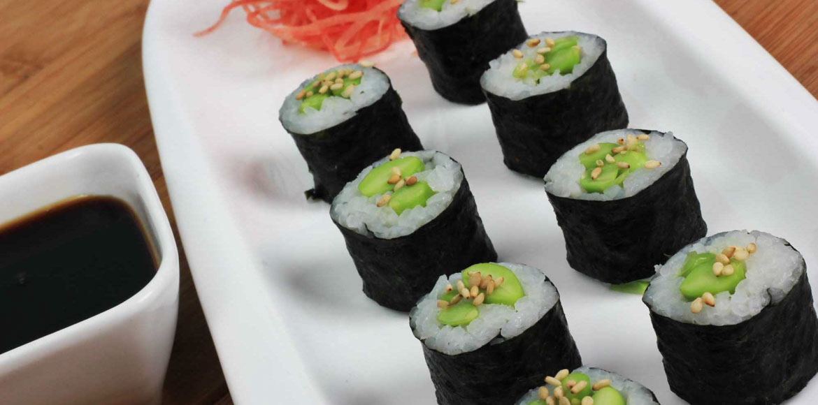 Sushi at your doorstep! Yes, Noida residents never