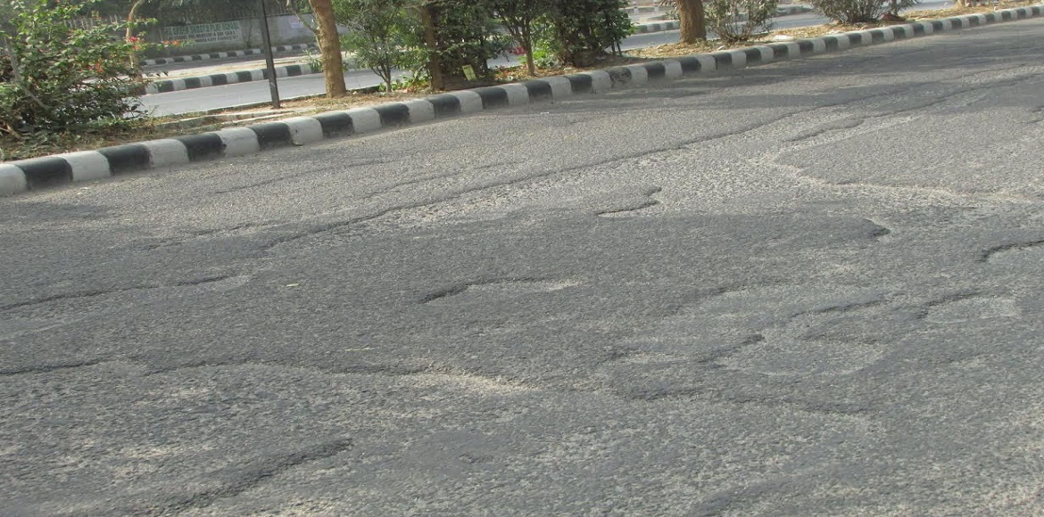 Dwarka: Who's supposed to repair this road?