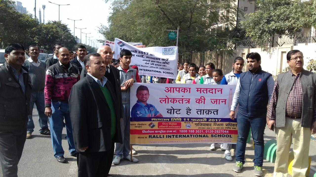 COG carries out drives to encourage Ghaziabad residents to vote