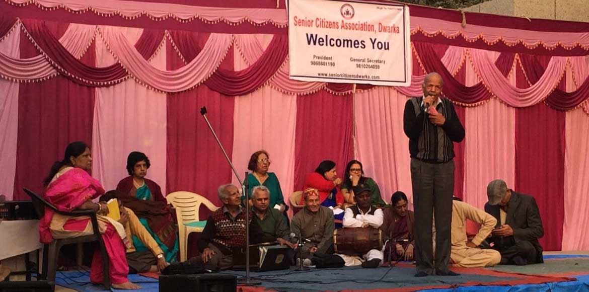 Dwarka Sector 6: Elderly welcome 2017 at gala event