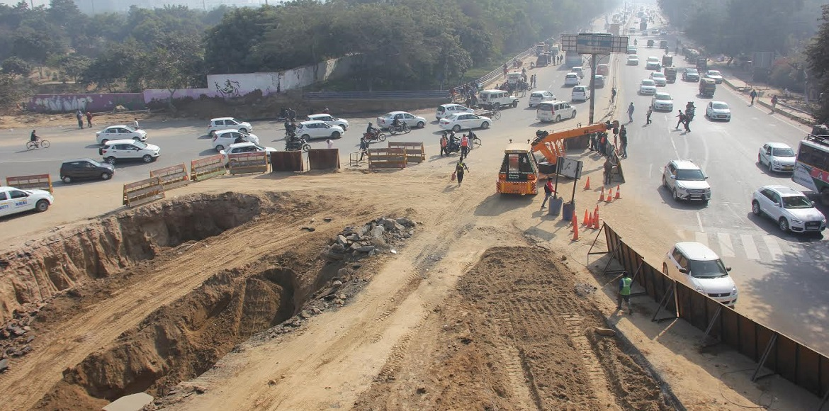 Road Safety Organisation suggests routes to avoid traffic snarls in Gurgaon