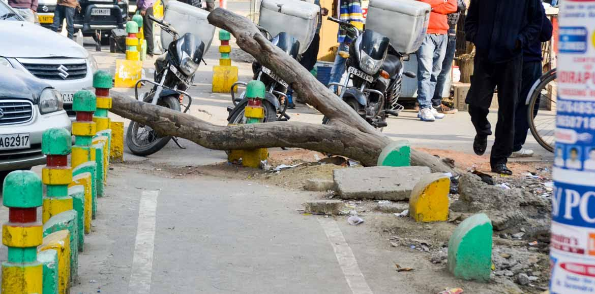 Did GDA waste Rs 20 crore on cycle tracks?