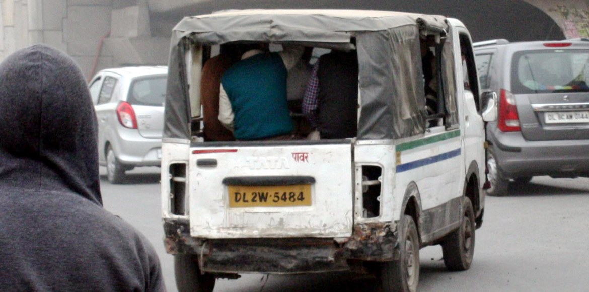Dwarka: Heavy vehicles and three-wheelers openly flout safety norms