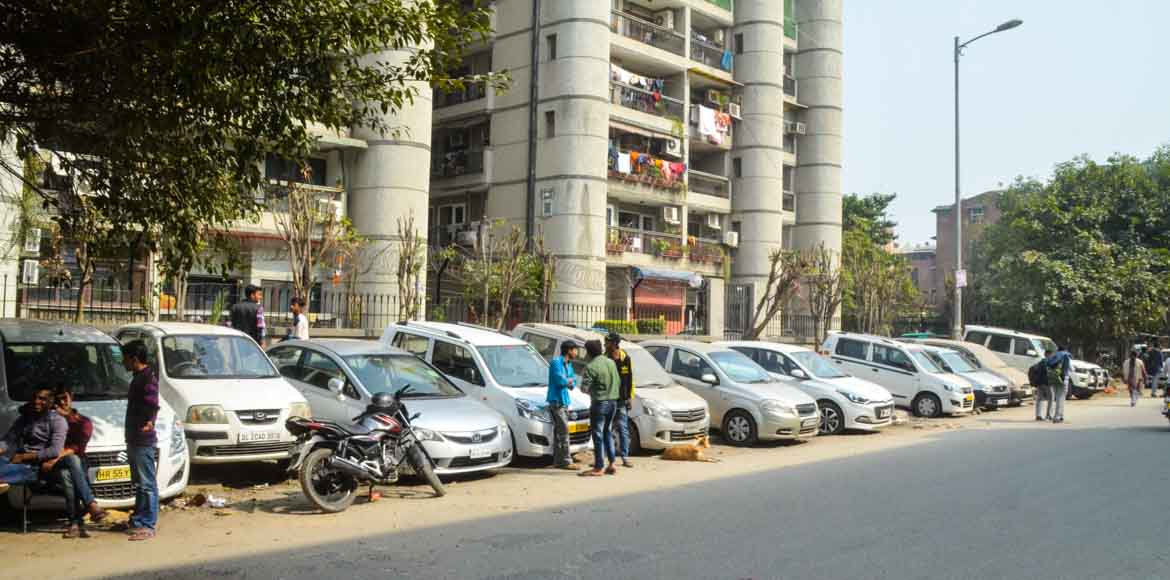 Is your car parked on Delhi government land?