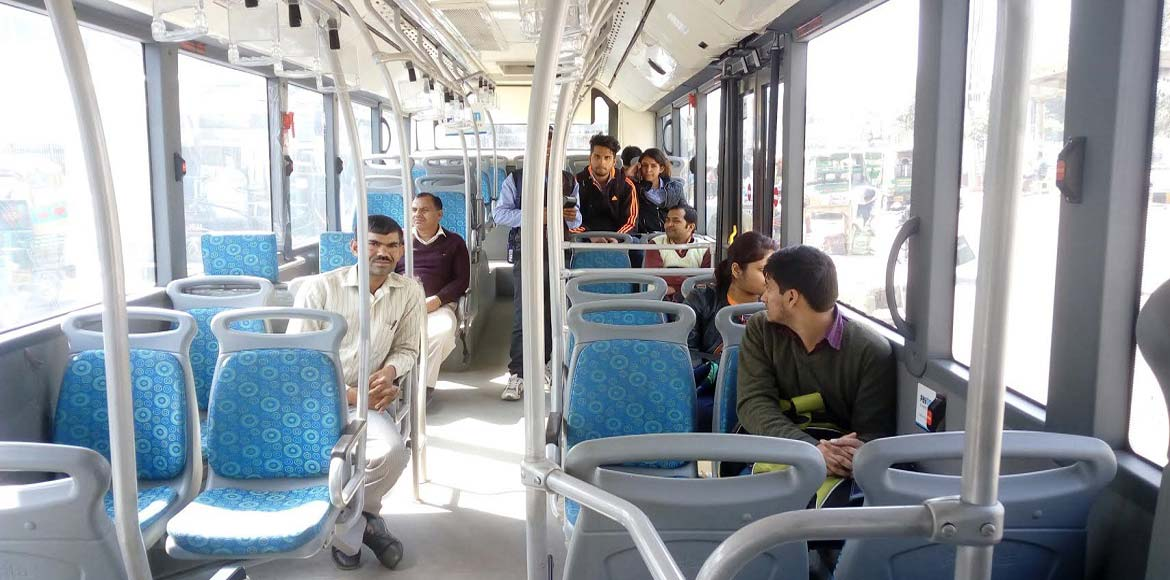Sit pretty in NMRC's new buses; Sec. 74, 76, 77 residents say 'at last'!