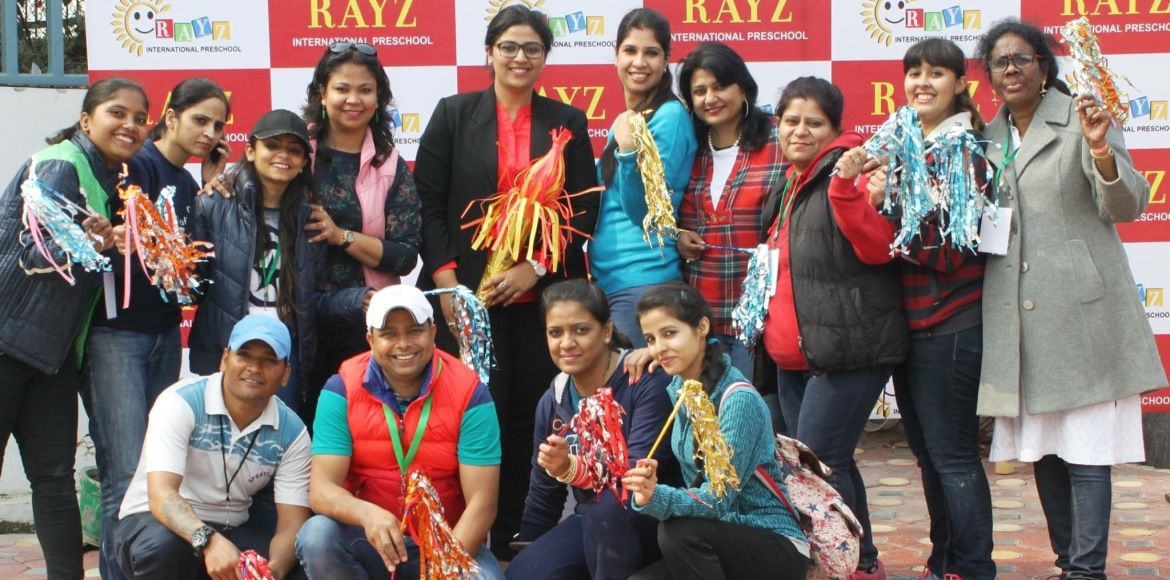 Noida's Rayz International Preschool celebrates annual sports day