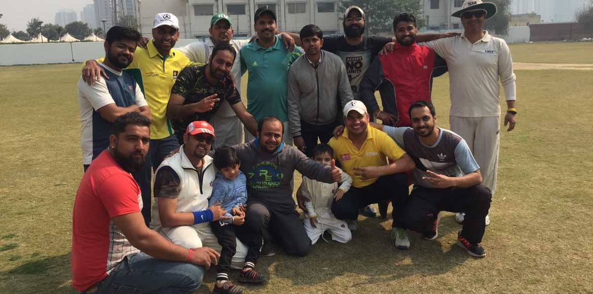 <p>Noida, RG Residency: RG Giants win the Friendship Cup</p>
