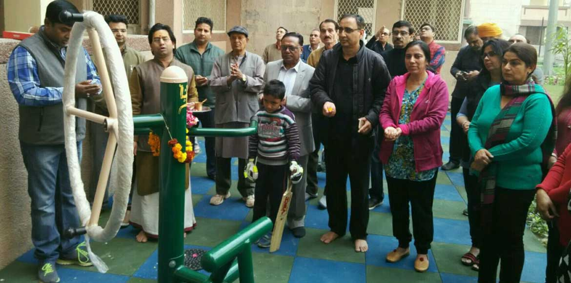 <p>Dwarka: Manzil Apartments gets its own gym</p>